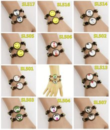 $enCountryForm.capitalKeyWord NZ - Brand new Handmade creative time gemstone retro couple bracelet FB356 mix order 20 sets a lot 1set=2 pieces