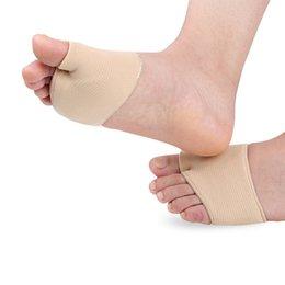 4 pcs Stretch Nylon Grande Dedo Do Pé Cisto Ferramenta de Cuidados Com Os Pés Hálux Valgo Guarda Almofada Bunion Toe Separador Thumb Valgo Protetor em Promoção