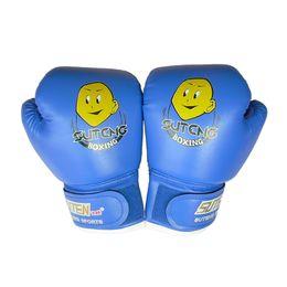 SportS Sandbag online shopping - Fitness Supplies Child Pair Durable Boxing Gloves Cartoon Sparring Kick Fight Sport Gloves Training Fists PU Leather Muay Sandbag