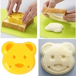$enCountryForm.capitalKeyWord Canada - 1pc Cute DIY Bear Sandwich Mold Toast Bread Stamp Mold Cutter Tool Kit E00116 ONET