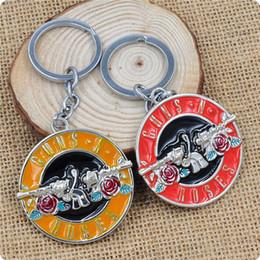 $enCountryForm.capitalKeyWord Canada - The Music Band Guns N' Roses G N' R GnR Logo Keychain 5cm Metal Key Chain Ring