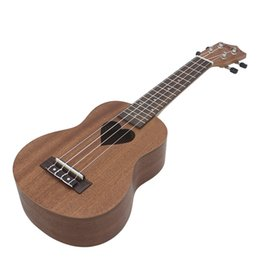 $enCountryForm.capitalKeyWord Canada - Professional Musical Instrument 21 Inch Ukelele Dark Brown Sapele Heat-shaped Sound Hole Suitable for Both Child & Adult
