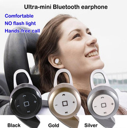 chinese hooks Canada - Wireless mini earphone A8 Bluetooth Headset Ear Hook In Ear headphones fone de ouvido Earbuds headphone with Micro for iphone 5 6 7 samsung