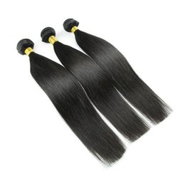 $enCountryForm.capitalKeyWord Canada - 3Pcs Virgin Peruvian Straight Hair Bundles Unprocessed Human Hair Weave Natural Color Brazilian Indian Malaysian Mongolian Hair Extensions