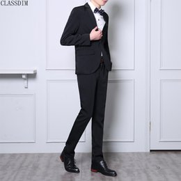 Large Lapel Suits Canada - Autumn And Winter New Men's Suits (Suits, Trousers) Large Size Men's Casual Fashion Solid Color Suit Work Clothes, School Uniforms