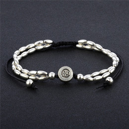 Yoga woman barefoot online shopping - 1Pcs Single Anklets For Women Fashion Beads Barefoot Foot Jewelry Ankle Bracelet Antique Silver OM Yoga Starfish Sexy Anklet Boho