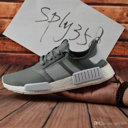 72e05f734 2019 Discount NMD Runner Shoes  R1 S79386 S79385 R 1 Primeknit R1 Sports  Women Mens Running Shoes Sneakers Shoes Casual Size 36-46