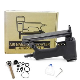 $enCountryForm.capitalKeyWord NZ - free shipping pneumatic nail gun smooth air stapler U type wind nail tool woodworking home decoration not jam block carton package