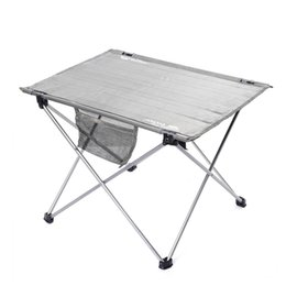wholesale ultralight foldable fishing table portable durable oxford fabric table for camping picnic beach bbq folding aluminum with bag