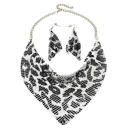 $enCountryForm.capitalKeyWord UK - dhgate Indian Jewelry Set Chic Style Shining Metal Slice Bib Choker Necklaces Earring Party   Wedding Fashion Jewelry Sets 2017