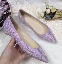 $enCountryForm.capitalKeyWord Canada - Summer Comfortable Ladies Red Bottom Shoes Women Point-toe Sandals Flats,Fashion High Quality Party Dress Wedding Ballet Flat