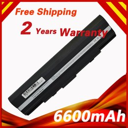 Wholesale- 9 cells Laptop Battery For Asus Eee PC 1201 1201T UL20 UL20A X23 Pro23 90-NX62B2000Y 90-XB0POABT00000Q 9COAAS031219 A32-UL20
