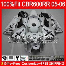 $enCountryForm.capitalKeyWord Australia - 8Gifts 23Colors Injection For HONDA CBR 600 RR CBR600RR 05 06 44HM11 CBR 600RR F5 03 04 Repsol White CBR600F5 CBR600 RR 2005 2006 Fairing