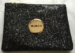 $enCountryForm.capitalKeyWord NZ - MIMCO Lovely Medium Pouch ---BLK SPARKS GOLD LOGO a026