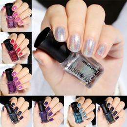 PurPle gel nail Polish online shopping - Top Quality My Dance Factory Price Environmental Fantasy Diamond Laser Nail Art Nail Gel Polish