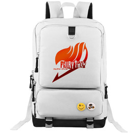 $enCountryForm.capitalKeyWord Canada - Fairy tail backpack Earth land school bag White daypack Anime schoolbag Outdoor rucksack Sport day pack