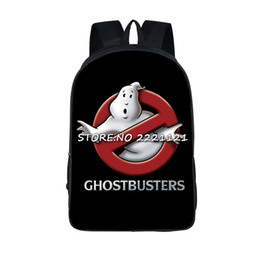 backpacks movies Canada - Ghostbusters Backpack Students Bags Children 'S Book Bag Cartoon Movie Printing School Bags For Teenagers Girls Travel Bagpack