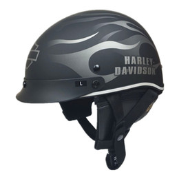 $enCountryForm.capitalKeyWord Canada - Half Face Motorcycle Helmet Vintage Retro Scooter Jet Helmet Cruiser Vintage Open Face Helmets With Windproof Collar