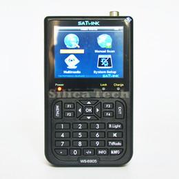 Satlink с WS-6905 DVB-T наземный Искатель метр 3.5