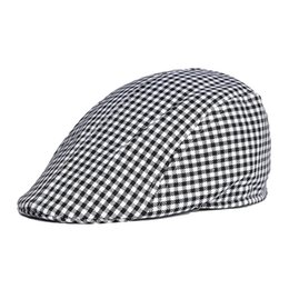 $enCountryForm.capitalKeyWord UK - Wholesale- Unisex Outdoor travel camping stripes Cotton Cap Male Female Summer Spring Outdoor Sun Beret Hat Men Women Adjustable Berets