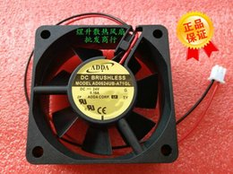 6cm inverter fan 2019 - Original ADDA 6025 AD0624UB-A71GL 0.16A 2 DC24V dual ball 6CM inverter fan cheap 6cm inverter fan