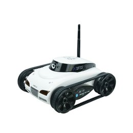 Spy android online shopping - I Spy Tank with Espion Camera Happy Cow Wi Fi RC Car with W Pixels Camera Support IOS phone or Android
