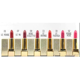 China HOT good quality Lowest Best-Selling NEW Makeup MATTE LIPSTICK SIX different colors 6pcs suppliers