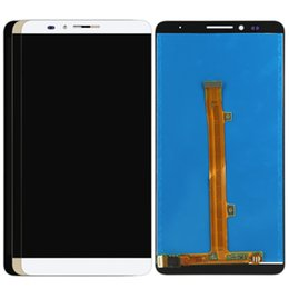 $enCountryForm.capitalKeyWord Canada - Free Shipping 100% Tested For Huawei Mate 7 LCD Display Touch Screen Digitizer Assbemly With Frame - Black White Gold