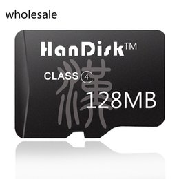 128mb memory online shopping - HanDisk Black Class4 MB Black Micro SD Card Quality Memory Card SDXC CE FCC certification TF Card