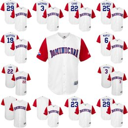 d36a85cd6 mens dominican republic baseball 6 starling marte majestic white 2017 world  baseball classic jersey