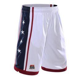 China USA Team Basket Shorts Men Jogger Elastic Waist Star Printed Basket Jogger Summer Clothing Bottoms Hot supplier team shorts suppliers