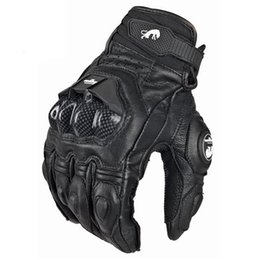 Chinese  Wholesale- GPCROSS Leather Racing Glove Motorcycle Gloves ride bike driving bicycle cycling Motorbike Sports moto racing gloves manufacturers