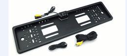 Ip camera 12v online shopping - Europe Lisence Plate PZ421 Car Camera For EU Lens Angle Degree IP Waterproof DC V
