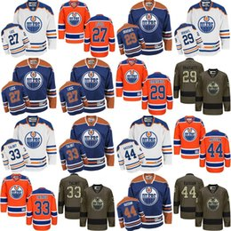 a8ac04817 2017 new 27 Milan Lucic 29 Leon Draisaitl 33 Cam Talbot 44 Zack Kassian Edmonton  Oilers NHL Ice Hockey Third Mens Premier Stitched Jerseys