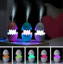 Discount egg humidifier - 100ml Diffuser Aroma Air Humidifier 5V USB Ultrasonic Mist Maker Difusor Essential Oil Diffuser Humidificador Aromathera