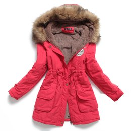 Survêtement Manteau Manteau Parka Pas Cher-Lisa_Tide Automne Parkas D'hiver Veste Femmes Manteaux Femme Survêtement Occasionnel Long Down Coton Ou Wadded Lady Femme Manteau Mode Chaud W-025