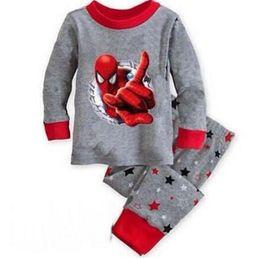 $enCountryForm.capitalKeyWord NZ - winter&autumn toddler boy spiderman pajamas set 100% cotton boys pyjamas long sleeve pijamas set kids pyjama enfant
