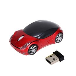 $enCountryForm.capitalKeyWord Canada - Wholesale- Wireless mouse cool fashion super car shaped mouse USB 2.4Ghz optical mouse mice for pc laptop computer high-quality