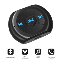 $enCountryForm.capitalKeyWord UK - A2DP 3.5mm Jack Bluetooth Car Kit Car Wireless Bluetooth 4.0 AUX Audio Music Receiver Adapter with Microphone for Cell Phone