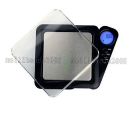 Diamonds Scale Canada - Mini LCD Electronic Pocket Jewelry Gold Diamond Weighting Scale Gram Digital Portable Weight Scales 100g * 0.01g MYY