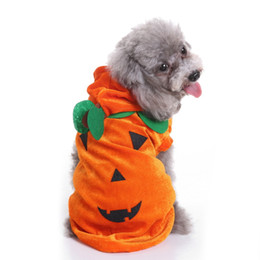 Costume Chat De Noël Pas Cher-2017 Halloween Noël mode chien de compagnie chat Cosplay vêtements costume cosplay araignée citrouille crâne santa costume pour animaux de compagnie DHL livraison