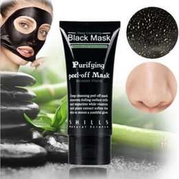 Enlèvement Profond De La Tête Noire Pas Cher-SHILLS Nettoyant Nettoyant purifiant Peel Off Black Facail masque facial Nouveau Blackhead Removal masque facial 50ml