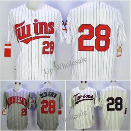 e6901cae658 ... Minnesota Twins 28 Bert Blyleven 34 Kirby Puckett Mens Retro Jersey  Baseball Jerseys ...