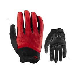 China New Gel Pad Cycling MTB Road Bike Long Gloves Bicycle Cycle Racing Pole Full Finger Gloves Mittens-Simple Riding Motorcycle cheap gloves bicycle black suppliers