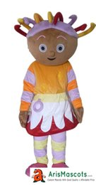 $enCountryForm.capitalKeyWord Canada - AM0165 Upsy Daisy Mascot costume, party costumes, EVA foam mascot fur mascot advertising