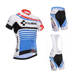$enCountryForm.capitalKeyWord NZ - 100% Polyester Summer Short Sleeve Bicycle Cube Cycling Jerseys Bike Cycling Clothing tour de france Bicycle Clothes Ropa Ciclismo C3005
