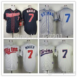 ... mlb Cheap Baseball 30 Teams-Wholesale 2015 Cheap Mens Baseball Jersey  Minnesota Twins 7 Joe Mauer Cool Base ... 3c85970fd