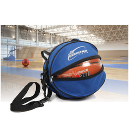 51fdd43ad546 Portable Shoulder Basketball Ball Bags Water Bottle Pack Outdoor Sports  Soccer Football Waterproof Bags