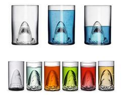 $enCountryForm.capitalKeyWord Canada - 1PC New Clear Glass Travel Coffee Mug Shark Tea Beer Water Cup Funny Christmas Mugs Adult Kids Gifts Espresso Glass Cups J1071