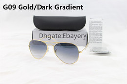 $enCountryForm.capitalKeyWord Canada - Free Shipping 100pcs By DHL Designer Classic Gradient Sunglasses Mens Womes Glasses Eyewear 58mm Glass Lenses With Box,Case,Cloth Can Mix